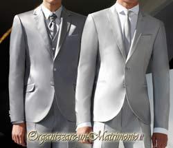 abiti sposo argento